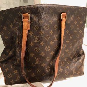 Louis Vuitton Authentic Vintage Cabas Bag.